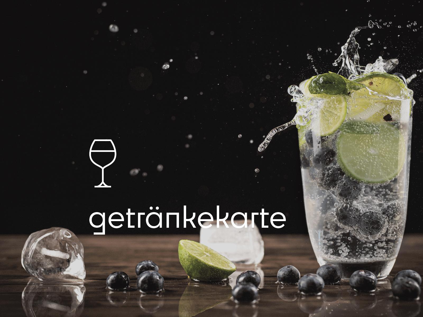 Speisekarte Getränke Frühstück Leckerbissen